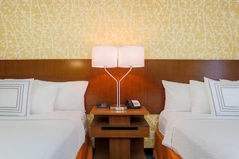 Guestroom at Fairfield Inn and Suites by Marriott Las Vegas South in Las Vegas
