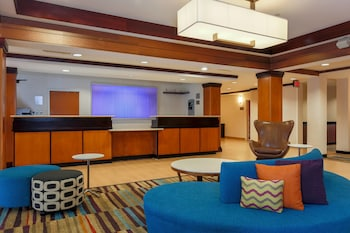 Lobby at Fairfield Inn and Suites by Marriott Las Vegas South in Las Vegas