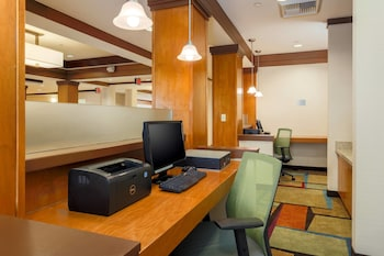 Business Center at Fairfield Inn and Suites by Marriott Las Vegas South in Las Vegas