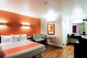 Guestroom at Motel 6 Scottsdale in Scottsdale