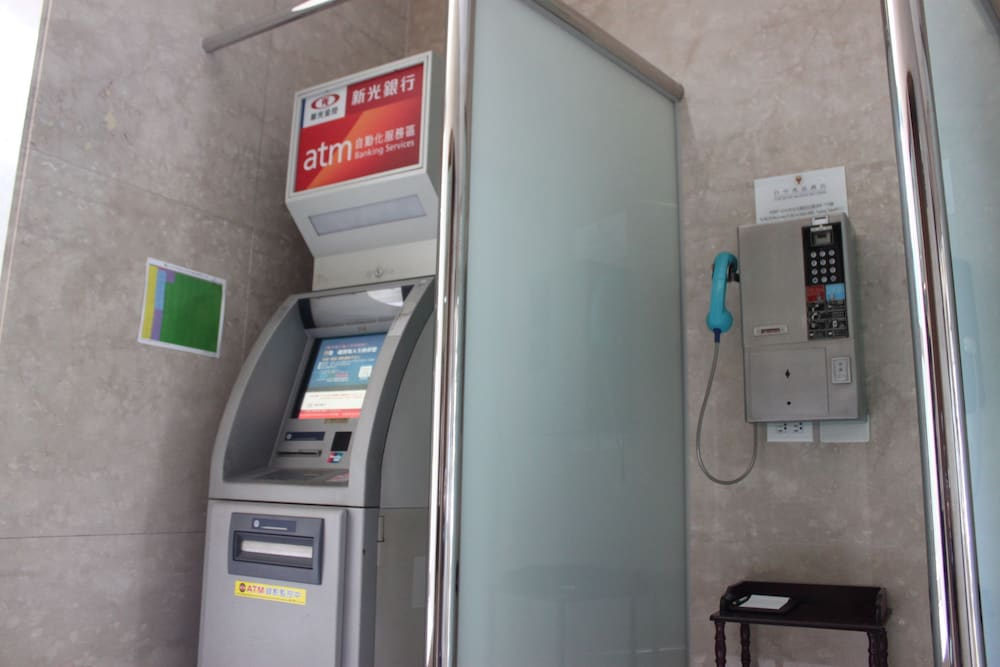 自動提款機/飯店銀行服務