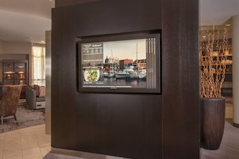 Interior Entrance at Courtyard Fort Meade BWI Business District in Annapolis Junction