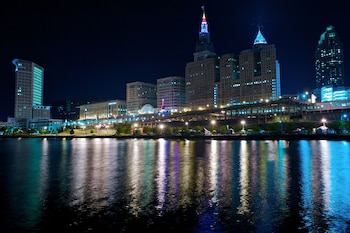 City View at Hampton Inn Cleveland Downtown in Cleveland