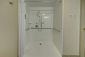 Suite, 1 King Bed, Accessible, Non Smoking (Mobility & Hearing - Roll-in Shower)