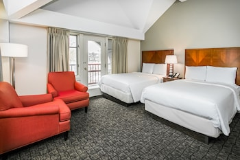 Oda, 2 Çift Kişilik Yatak, Balkon
