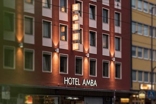 Monachium - Hotel Amba - z Warszawy, 28 marca 2021, 3 noce