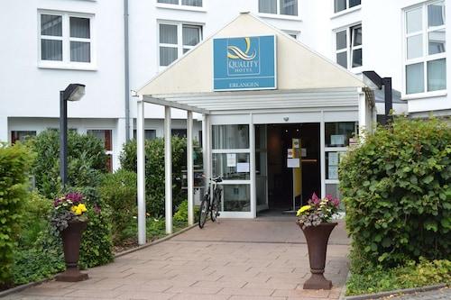 Erlangen - Quality Hotel Erlangen - z Katowic, 26 marca 2021, 3 noce