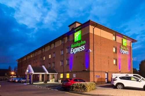 Oldbury - Holiday Inn Express Birmingham - Oldbury - z Katowic, 28 marca 2021, 3 noce