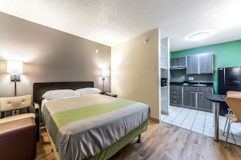 Guestroom at Studio 6 Dallas Northwest in Dallas