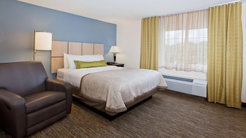 Suite, 1 Queen Bed, Accessible (Mobility/Hearing Shower One Bedroom)