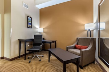 Suite, 1 King Bed, Accessible, Roll-in Shower, Non Smoking