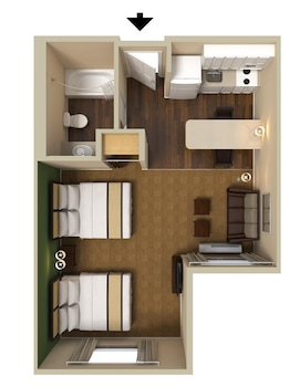 Extended Stay America - Jacksonville-Salisbury Rd-Southpoint - Guestroom  - #0