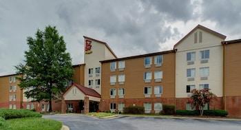 羅利北卡羅來納州立大學會議中心紅屋頂飯店 Red Roof Inn PLUS+ Raleigh NCSU - Convention Center