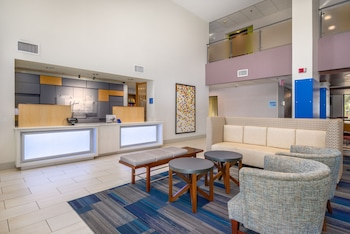 Lobby at Holiday Inn Express Hotel & Suites Phoenix-Airport in Phoenix