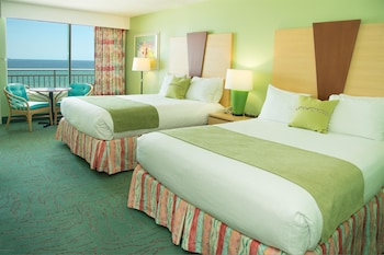 Standard Room, 2 Queen Beds, Balcony, Beachfront