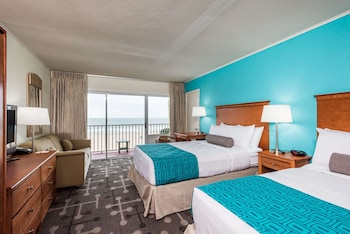 Room, 2 Double Beds, Non Smoking (Ocean Front View)