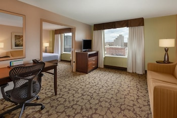 Basic Suite, 1 King Bed, Accessible (Hearing)