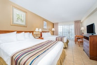 Standard Room, 2 Queen Beds, City View at Paradise Plaza Inn in Ocean City