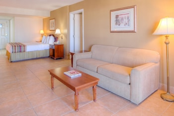 Standard Room, 1 King Bed with Sofa bed, Partial Ocean View