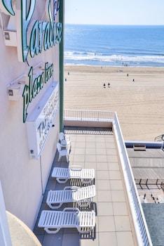 Beach/Ocean View at Paradise Plaza Inn in Ocean City