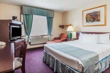 Guestroom at Super 8 by Wyndham Irving DFW Airport/South in Irving
