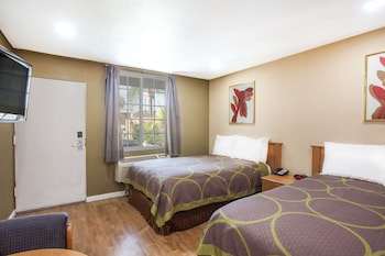Room, 2 Double Beds, Accessible, Non Smoking (Mobility/Hearing/Walk-In Shower)