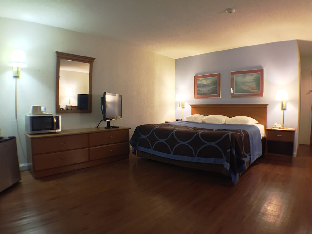 수퍼 8 바이 윈덤 웹스터/로체스터(Super 8 by Wyndham Webster/Rochester) Hotel Image 6 - Guestroom