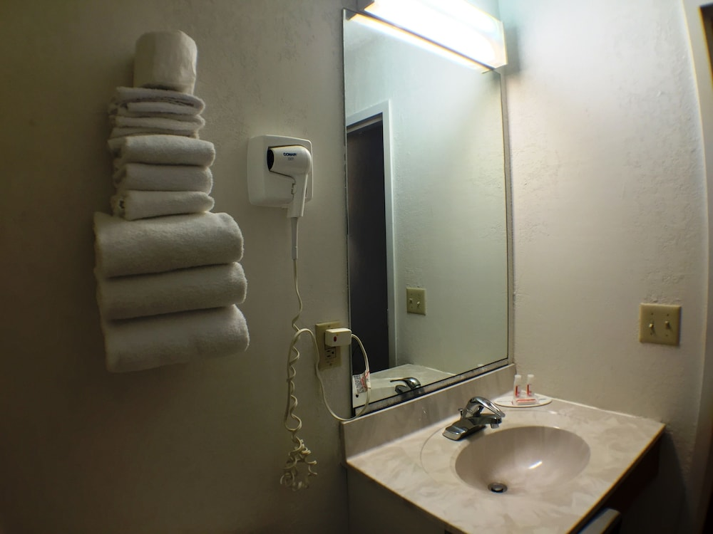 수퍼 8 바이 윈덤 웹스터/로체스터(Super 8 by Wyndham Webster/Rochester) Hotel Image 26 - Bathroom