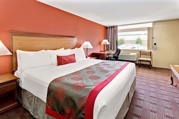 Guestroom at Ramada by Wyndham Baltimore West in Catonsville