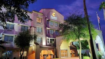坦佩鳳凰城天空港口機場凱富套房飯店 Comfort Inn & Suites Tempe Phoenix Sky Harbor Airport