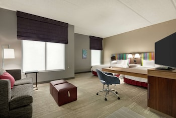 Studio, 2 Queen Beds, Accessible, Bathtub (Mobility & Hearing)