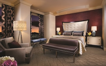 Guestroom at Bellagio in Las Vegas