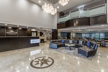 Lobby at Wingate by Wyndham Convention Ctr Closest Universal Orlando in Orlando