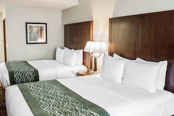 Double Room, 2 Queen Beds, Non Smoking