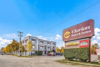 溫賴特堡附近費爾班克斯凱瑞華晟套房飯店 Clarion Hotel & Suites Fairbanks near Ft. Wainwright