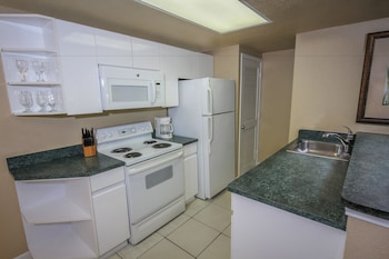 In-Room Kitchen at Westgate Towers Resort in Kissimmee