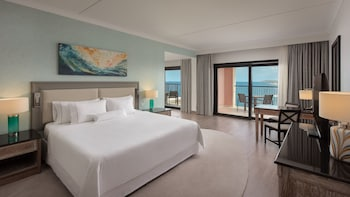 Junior Suite, 1 King Bed, Balcony, Sea View
