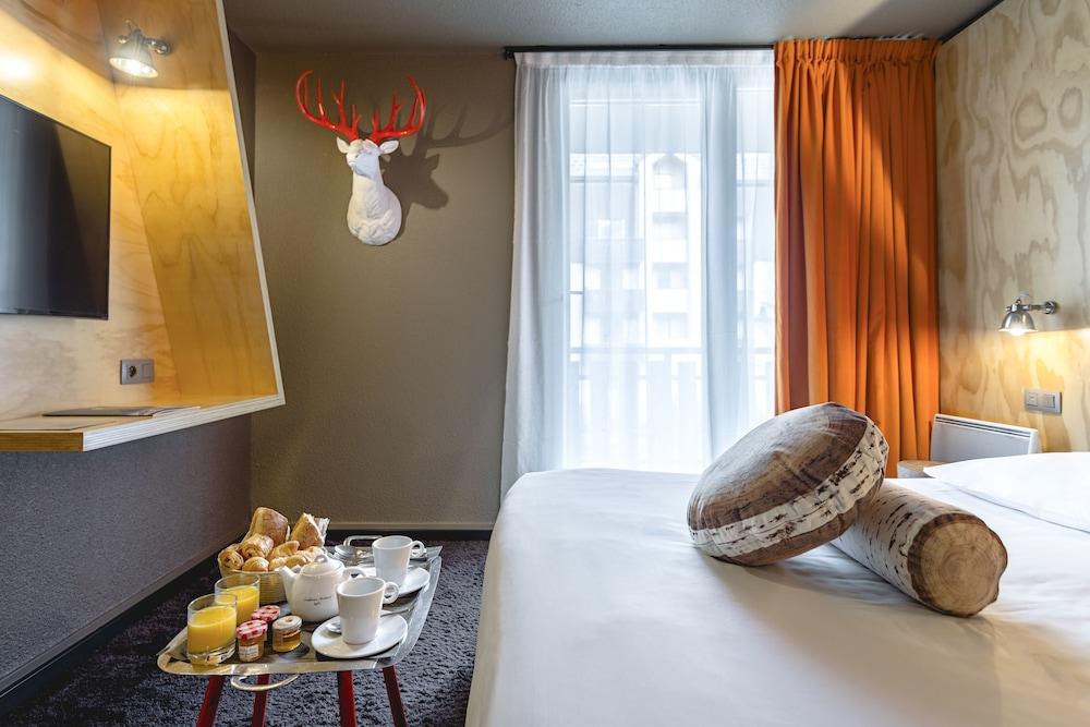 르 레퓨지 데 에글론(Hôtel Le Refuge des Aiglons) Hotel Image 20 - Guestroom