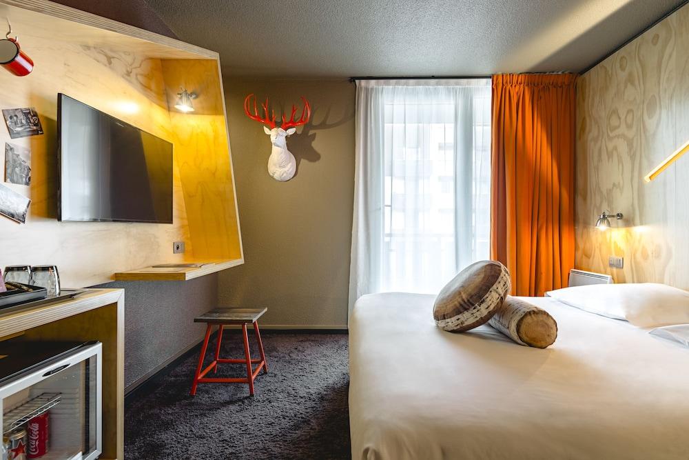 르 레퓨지 데 에글론(Hôtel Le Refuge des Aiglons) Hotel Image 11 - Guestroom