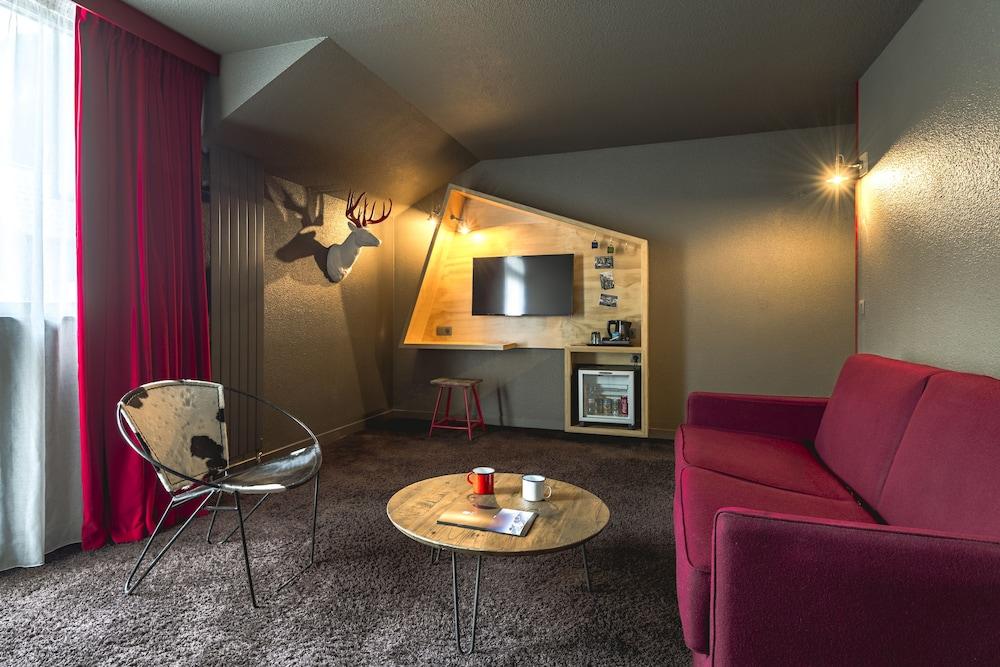 르 레퓨지 데 에글론(Hôtel Le Refuge des Aiglons) Hotel Image 21 - Guestroom