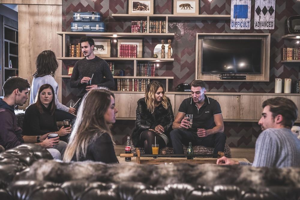 르 레퓨지 데 에글론(Hôtel Le Refuge des Aiglons) Hotel Image 63 - Hotel Lounge
