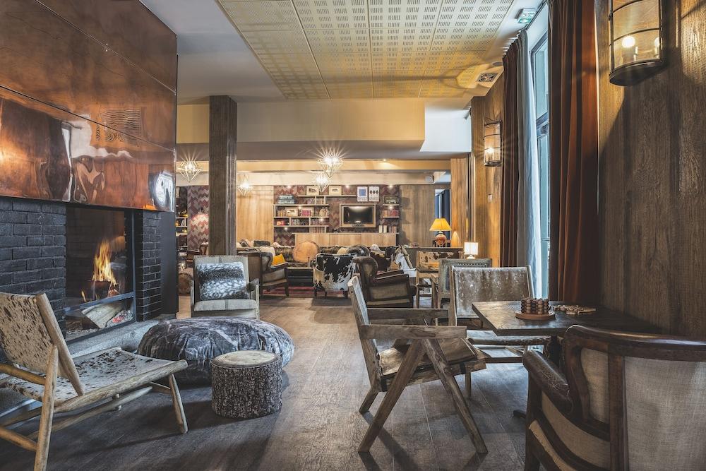 르 레퓨지 데 에글론(Hôtel Le Refuge des Aiglons) Hotel Image 64 - Hotel Lounge