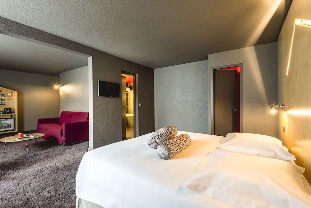 르 레퓨지 데 에글론(Hôtel Le Refuge des Aiglons) Hotel Image 16 - Guestroom