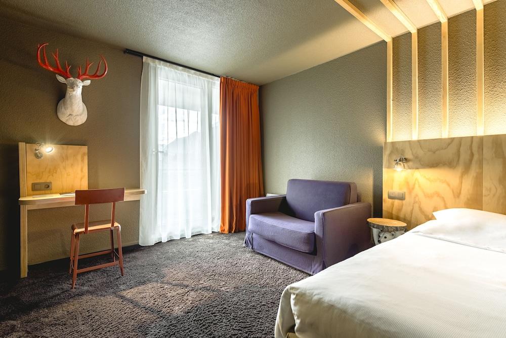 르 레퓨지 데 에글론(Hôtel Le Refuge des Aiglons) Hotel Image 18 - Guestroom