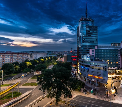 Szczecin - Radisson Blu Hotel, Szczecin - z Krakowa, 2 kwietnia 2021, 3 noce