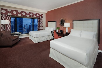 Premium Room, 2 Double Beds, View (Montreal View)