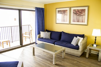 2 Double Beds, One-Bedroom Suite, Gulf View, Non Smoking