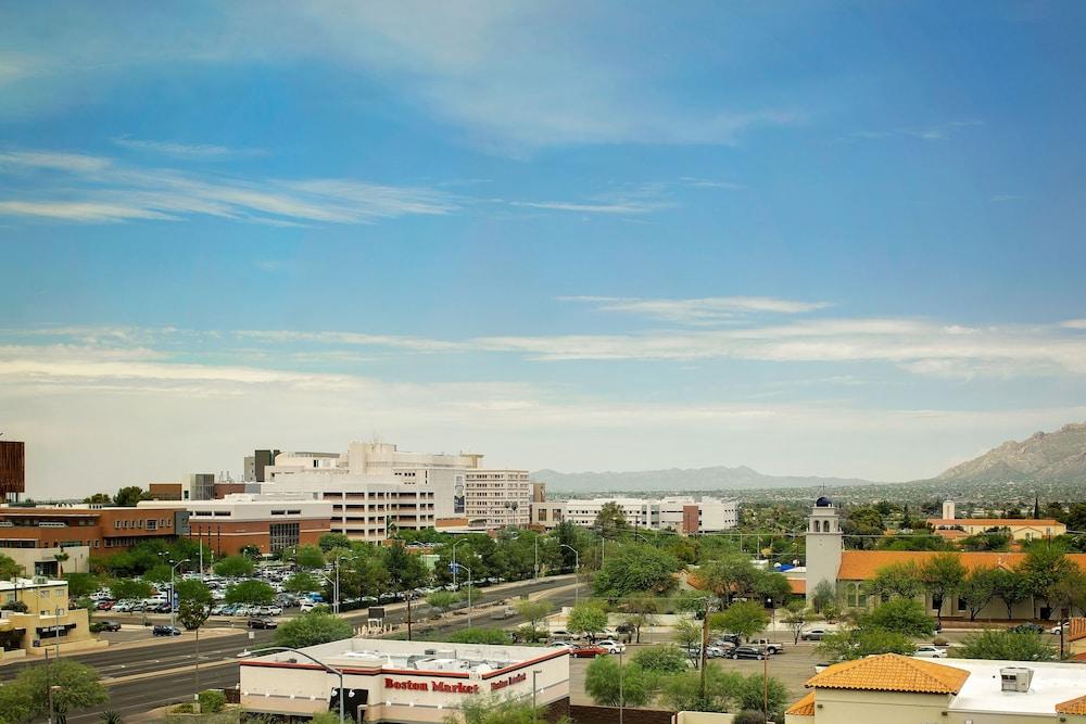 住宿望出去的城市景