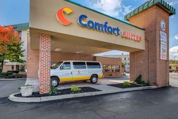 雷海大學與 LVI 機場附近伯利恆凱富全套房飯店 Comfort Suites Bethlehem Near Lehigh University and LVI Airport