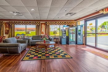 Lobby at Econo Lodge Mt Laurel in Mount Laurel